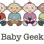 Baby Geek, T-shirt Design, pixels
